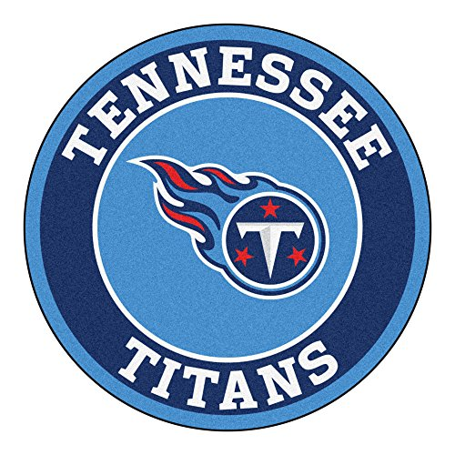 FANMATS 17978 NFL Tennessee Titans Roundel Mat
