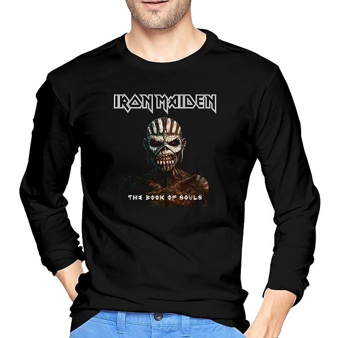 xxfz Hombres de Iron Maiden banda la trooperpiece de mente negro camisetas