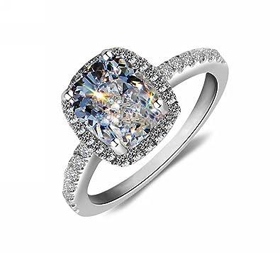 Amazoncom Lady 18k White Gold Gp AAA Zircon Swarovski Crystal