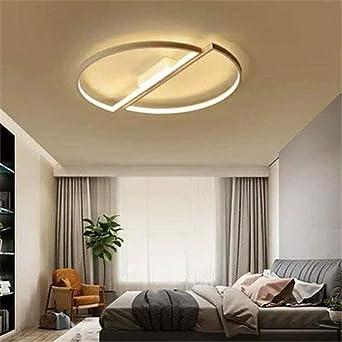 La lámpara de techo LED redonda es adecuada para uso doméstico, el ...