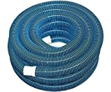 Jonyandwater Swimming Pool Standard Vacuum Pool Hose 40' ft. Section 1.25
