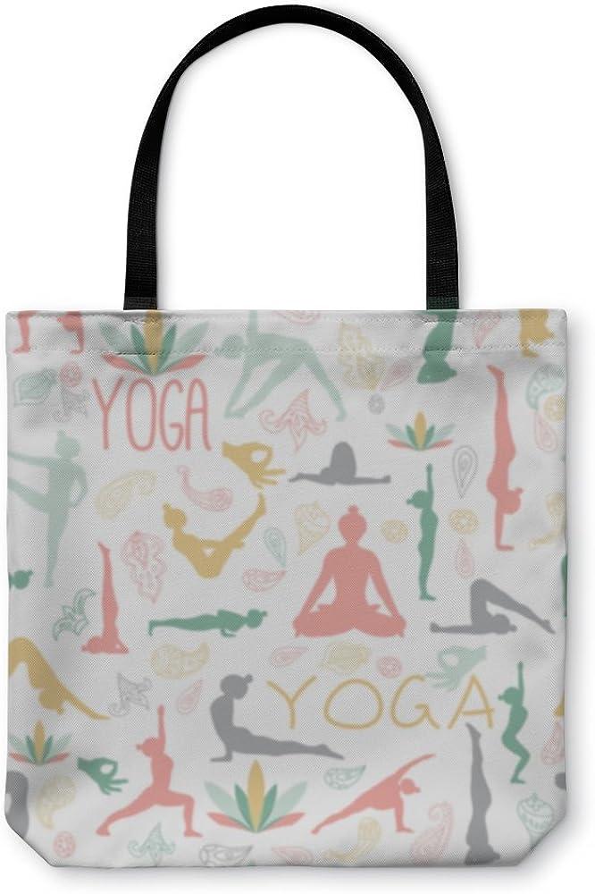 Yoga Pattern 1778268GN Gear New Shoulder Tote Hand Bag