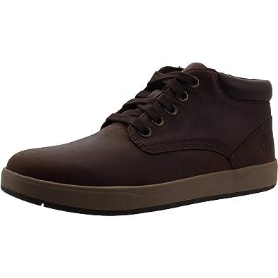 Timberland Groveton Leather Chukka Shoe, Braun Full Grain