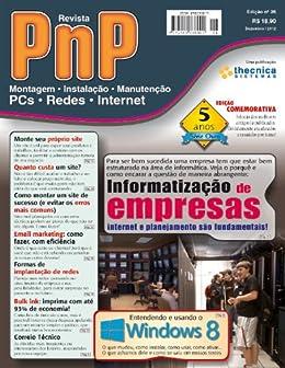 PnP Digital nº 26 - Informatização de empresas, entendendo o Windows 8 por [Campos, Iberê M.]