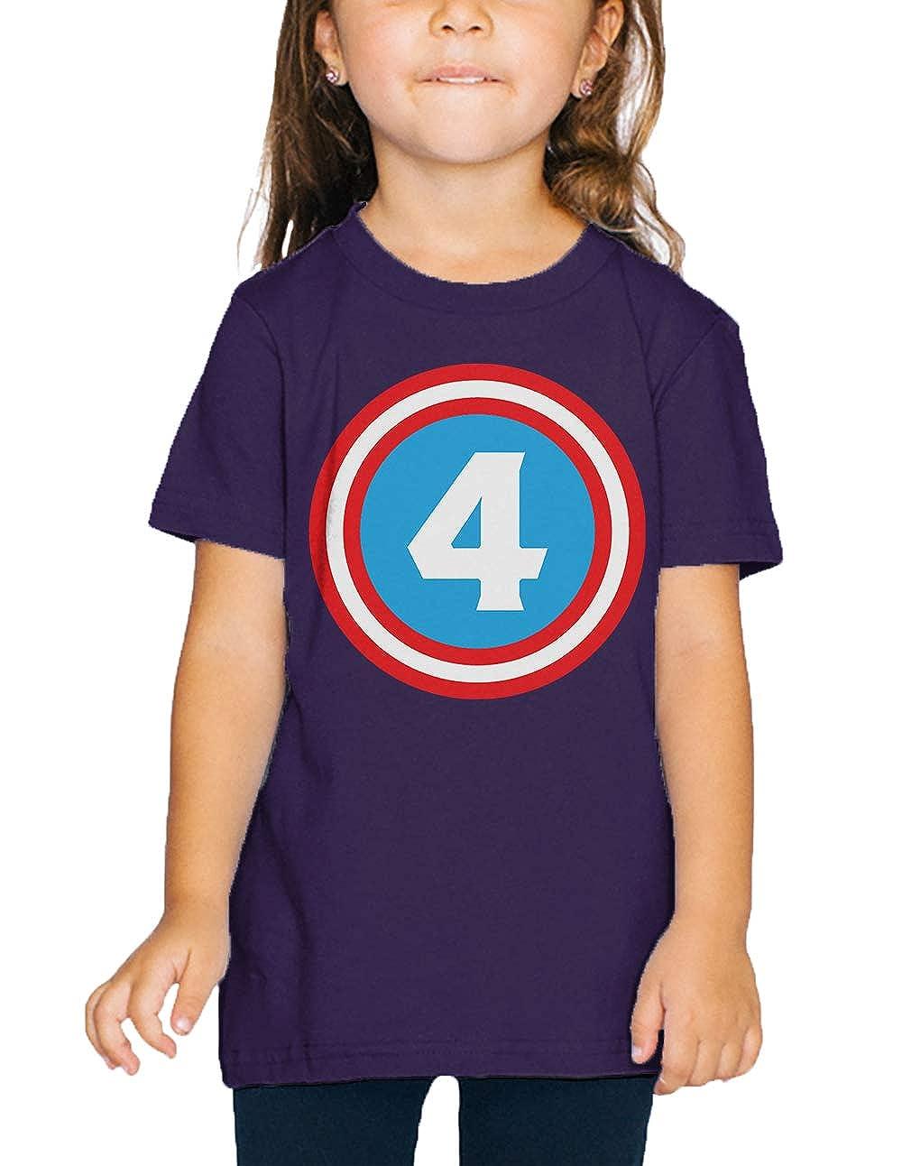 SpiritForged Apparel Superhero Four Year Old Toddler T-Shirt