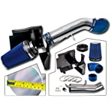 """4"""" Performance Cold Air Intake Kit With Filter For GMC Chevy Chevrolet 1999 2000 2001 2002 2003 2004 2005 2006 V8 4.8L/5.3L/6.0L(Blue)"""