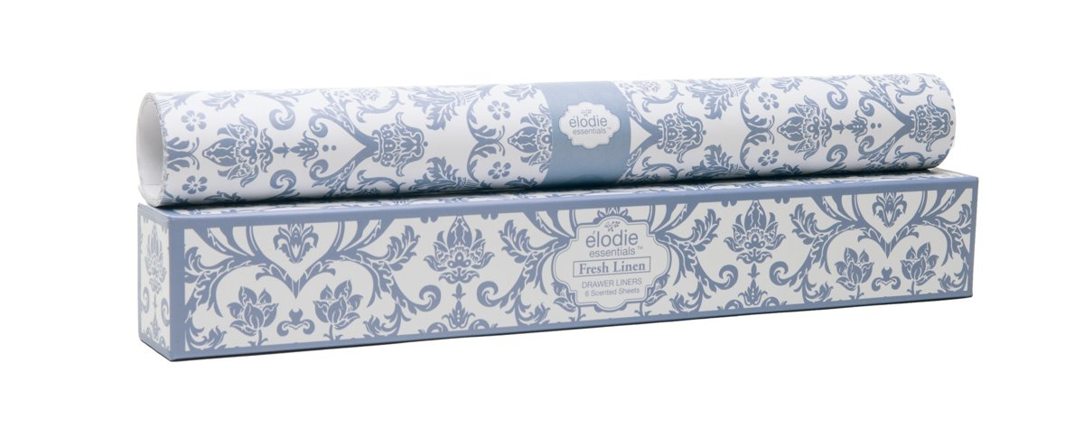 Fresh Linen Scented Drawer Liners - Royal Damask by Elodie Essentials