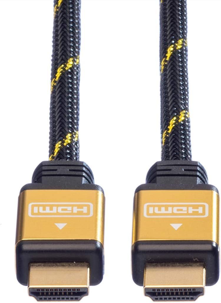 Rotronic Roline 11.04.5500/USB 2.0/Cable 1/m Black