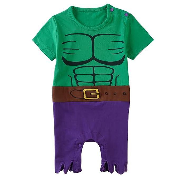 Equipo infantil inspirado en Hulk. 0-6 Meses: Amazon.es ...