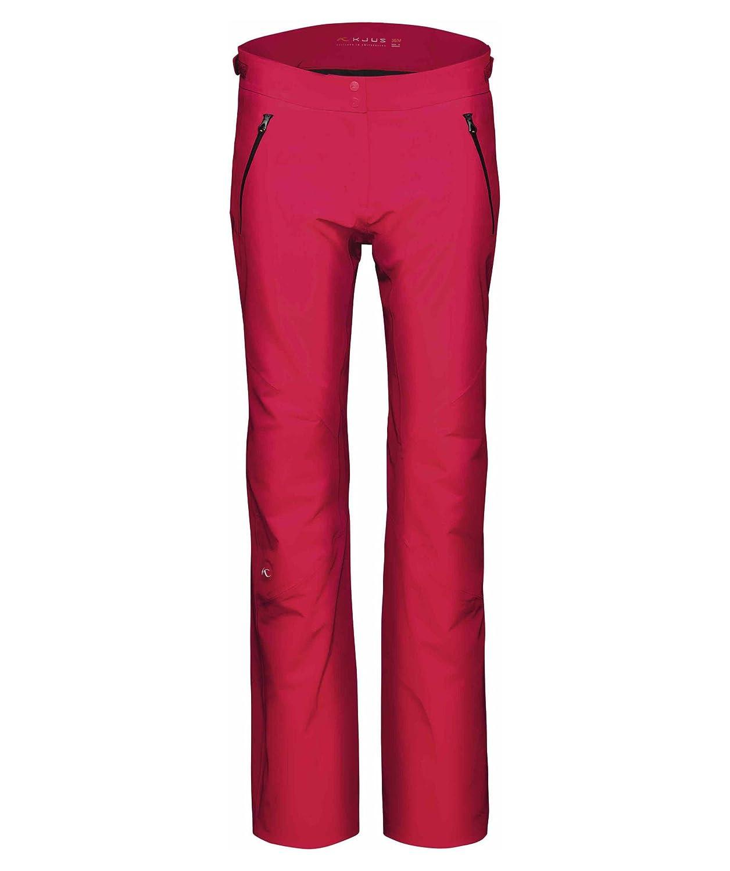 Kjus Ladies Formula Pants - Lipstick Pink - 38 - Hochwertige wasserdichte Damen Dermizax® EV Ski- und Snowboardhose