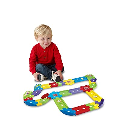 Amazon Com Smart Wheels Deluxe Track Playset Vtech Toys Kids