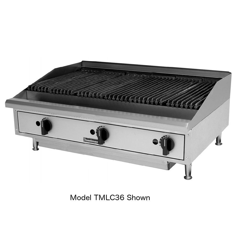 Toastmaster TMRC36 Radiant Natural Gas 36'' Charbroiler