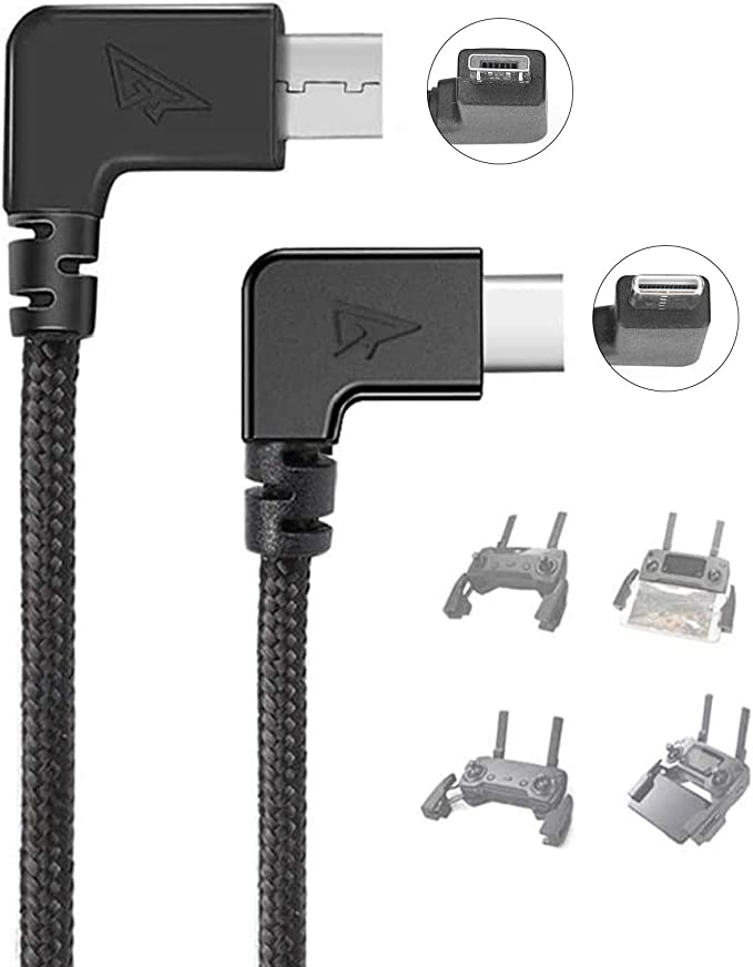 PRO OTG Cable Works for Kyocera S2720 Right Angle Cable Connects You to Any Compatible USB Device with MicroUSB