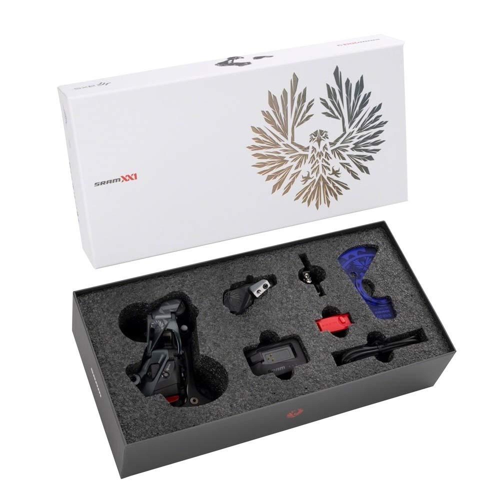 SRAM XX1 イーグル AXS アップグレードキット - リアディレイラー、バッテリー、イーグル AXS コントローラー、クランプ、充電器/コード付き。