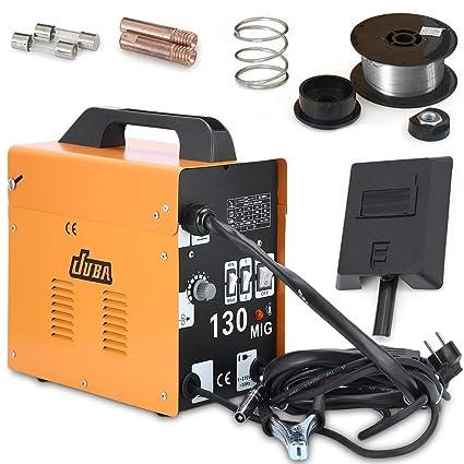 Poncherish MIG-130 - Soldador de electrodos (230 V, 50-120 A