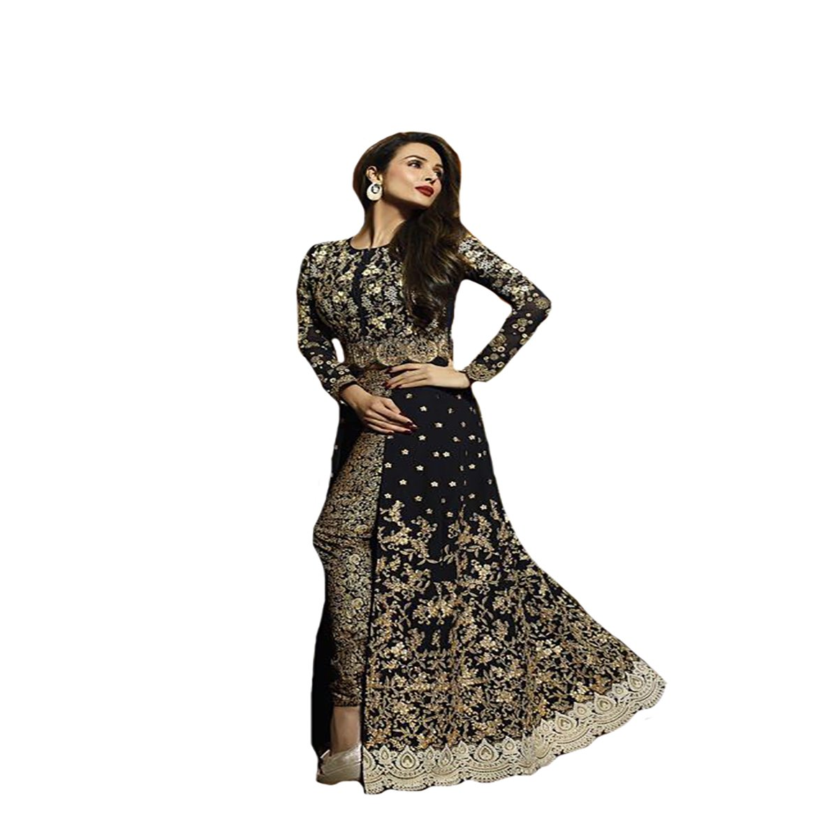 Amazon.com: Malaika Arora mejor Collection étnico Anarkali ...