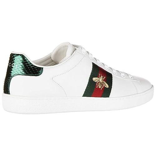 scarpe gucci donna sneakers  Gucci Sneakers Donna Bianco 39 EU: : Scarpe e borse