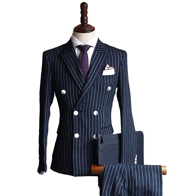 Amazon.com: botong doble Breasted vestir trajes, bodas y ...