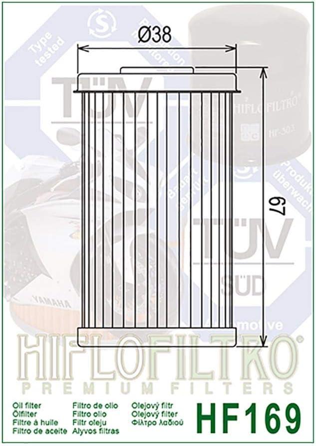 /Ölfilter Hiflo VJ 125 Roadwin 04-06