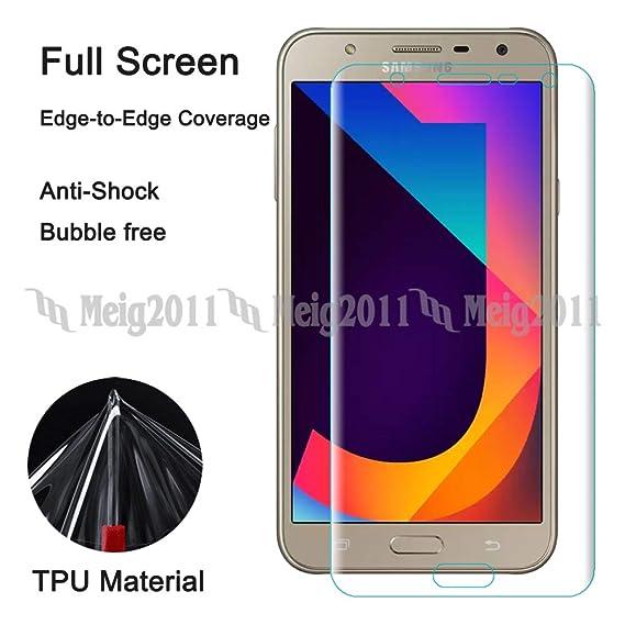 ce99035ecc Amazon.com  Full Cover Soft TPU Screen Protector Film for Samsung ...