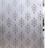 LYCSIX66 No Glue Decorative Window Film Static Cling Glass Films Vinyl Decal for Home Privacy 17.7'' x 78.7'' (Decorative Pattern)
