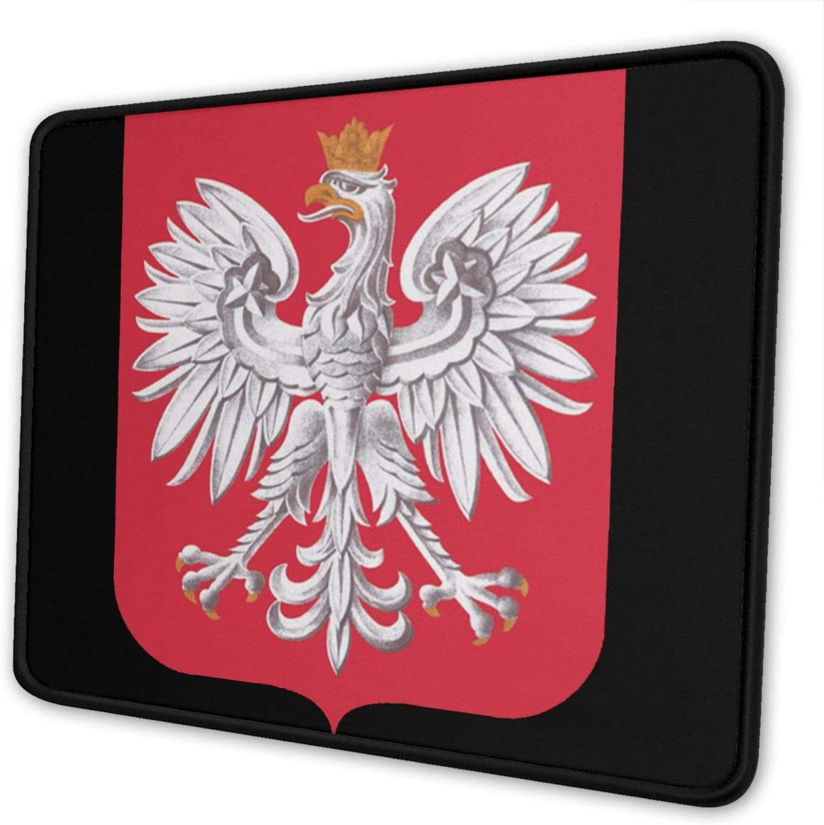 Coat of Arms of Poland Mouse Pads Non-Slip Gaming Mouse Pad Mousepad for Working