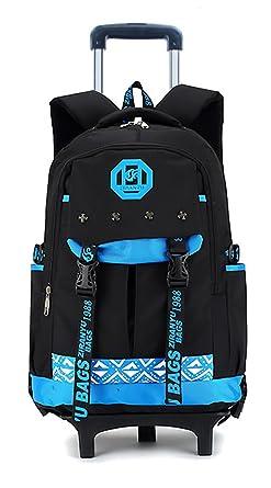 Amazon Com Meetbelify Kids Rolling Backpacks Luggage Two Wheels