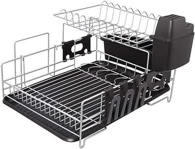 Cutelife-SH Lavaplatos Kitchen Craft Chrome Plate Drainer, Acero ...