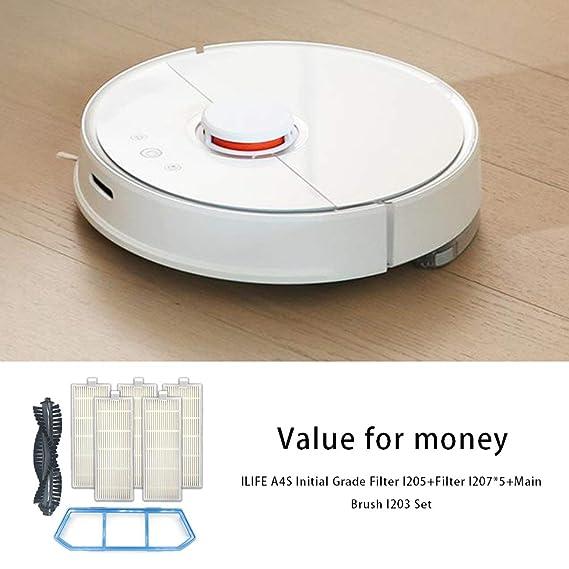 Ballylelly Robot aspirador Ilife A40 A4s para accesorios Chuwi ...