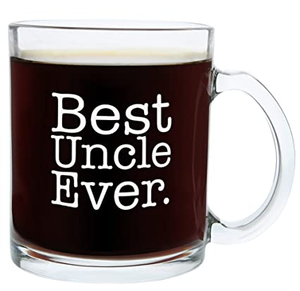 christmas gifts for uncle best uncle ever funny fathers day gift glass coffee mug tea cup