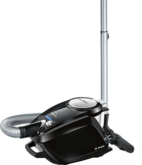 Bosch BGS5SIL66B Relaxxx ProSilence - Aspirador sin bolsa silencioso, tecnología SensorBagless, 700 W, autolimpieza de filtro SelfClean, color negro