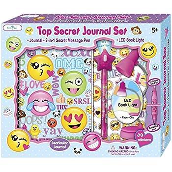 Amazon.com: Fashion Angels Emoji Smash Journal Kit: Toys & Games