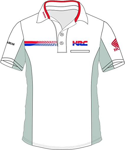 pritelli Honda HRC Team Moto GP Teamwear Replica Polo Camisa ...