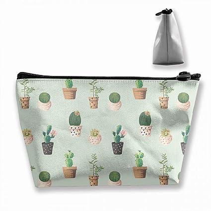 Divertido patrón de cactus viaje, artículos de tocador ...