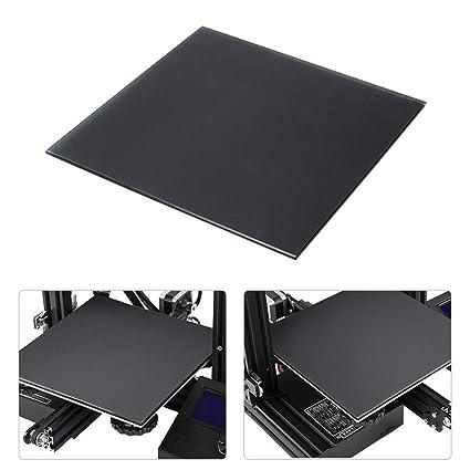 Aibecy - Plataforma de vidrio para impresora 3D, superficie de ...