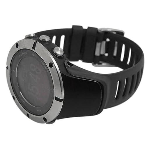 Conquro Moda Adolescente extensión Unisex Correa de Caucho Salvaje Ajustable Reloj Inteligente Accesorios Pulsera Compatible For SUUNTO Ambit1, Ambit2, ...