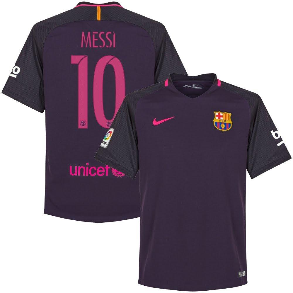 バルセロナAway Messi Jersey 2016 /2017 (Unsponsored) B01M0KF31ESmall