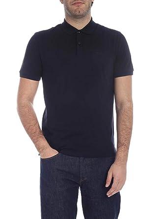 Hugo Boss Black Pallas Short Sleeved Polo NAVY Large: Amazon.es ...