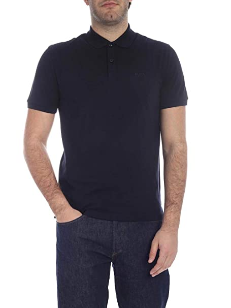 Hugo Boss BOSS Navy Blue Pallas Polo XXX-Large: Amazon.es: Ropa y ...
