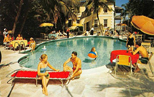 (Nassau Bahamas Royal Victoria Hotel Swimming Pool Vintage Postcard J74704)