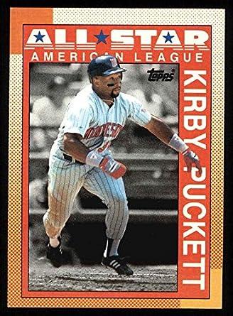 Amazoncom 1990 Topps 391 All Star Kirby Puckett Minnesota Twins