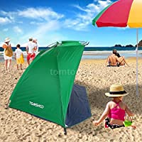 UNAKIM-Pop Up Beach Canopy Sun Shade Shelter Outdoor Camping Fishing Tent Mesh A0H8