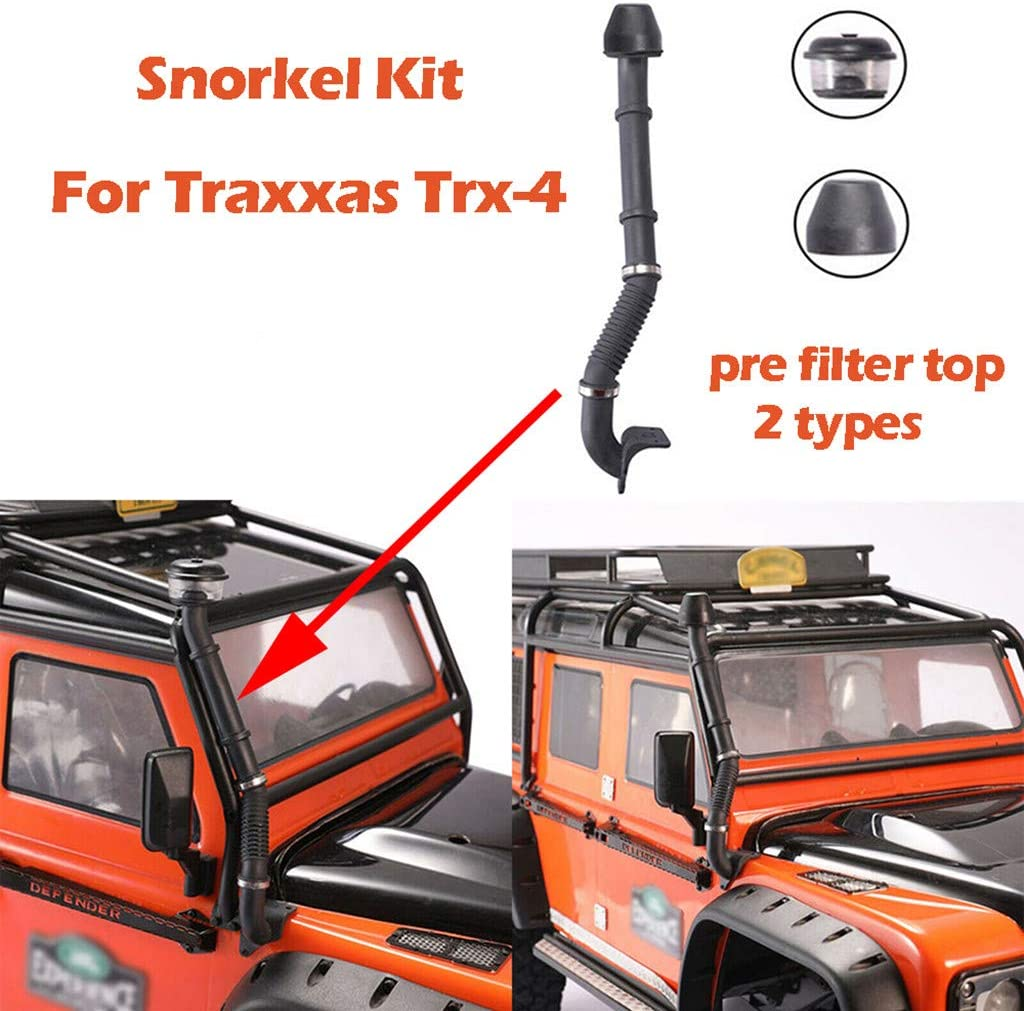 2X Air Intake Clamp //Snorkel For Land Rover Defender Traxxas Trx-4 RC Crawler UK