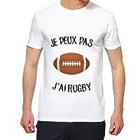 T-Shirt Premium - Je Peux Pas j AI Rugby - Homme