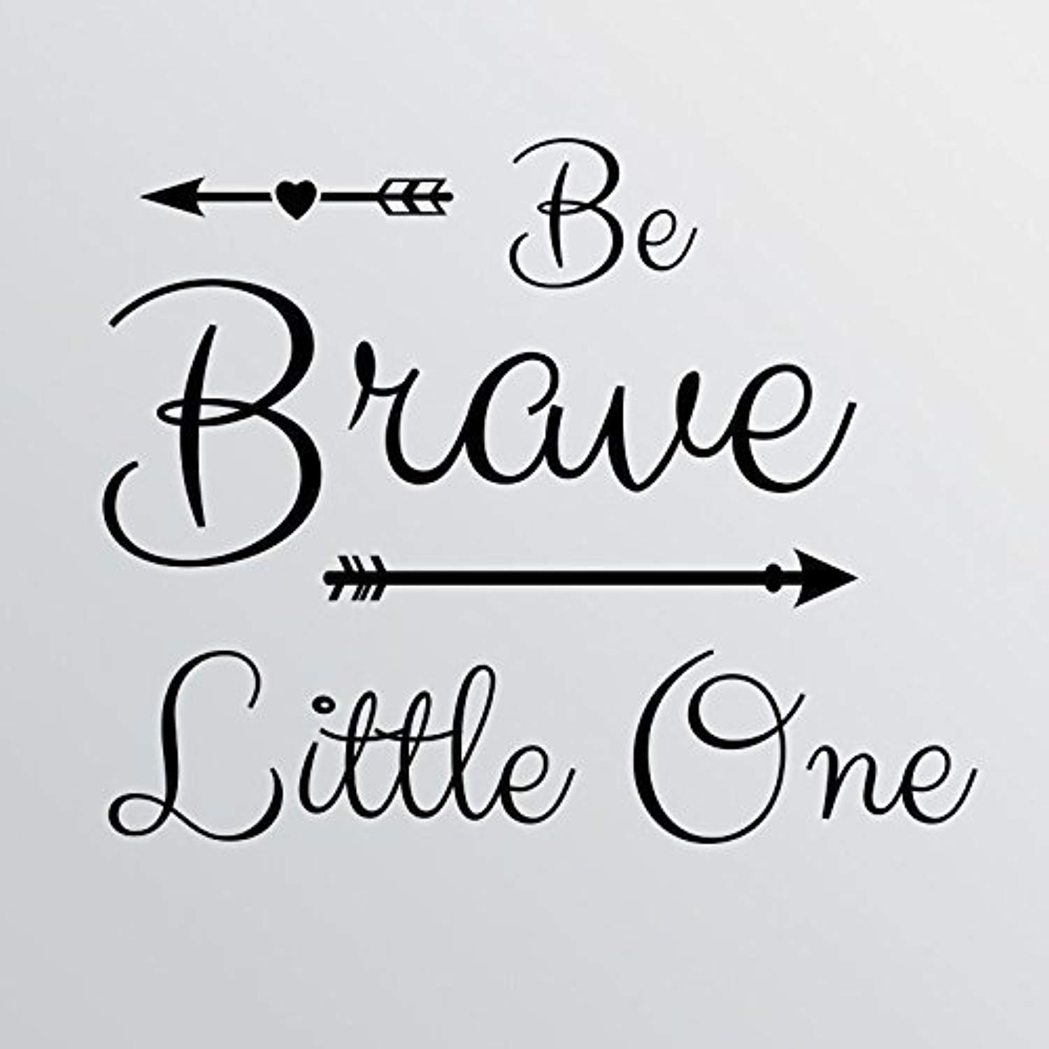 Amazon.com: Quote Be Brave Little One Cute Nursery Baby Boy ...