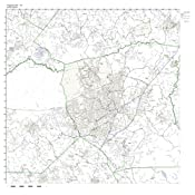 Amazon Com Fayetteville Nc Zip Code Map Not Laminated Home Kitchen