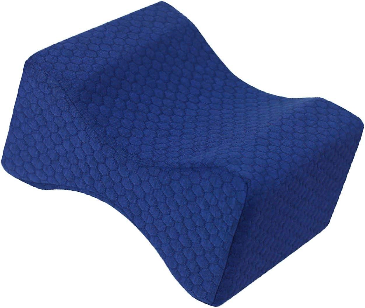 Liobaba Comfortable Memory Foam Mat Pillows Sleeping Bolster Under Knee Pillow Orthopedic Posture Supporter Leg Cushion