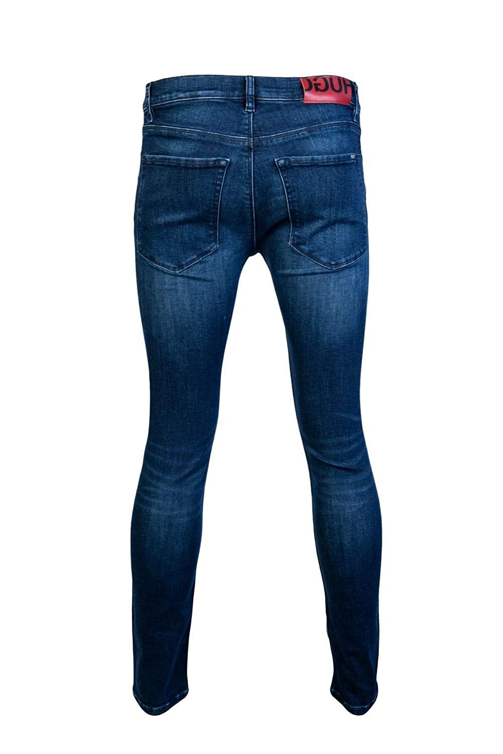 9678b461 Amazon.com: Hugo Boss Mens Skinny Jeans Hugo 734 50395066 Size 34/32 Blue: HUGO  BOSS: Clothing