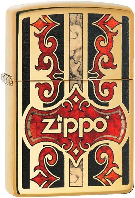 Zippo 60003425 Z Fusion Mechero de Gasolina, latón, Transparente ...