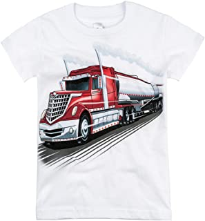 product image for Shirts That Go Little Boys' Big Rig Tanker Truck T-Shirt
